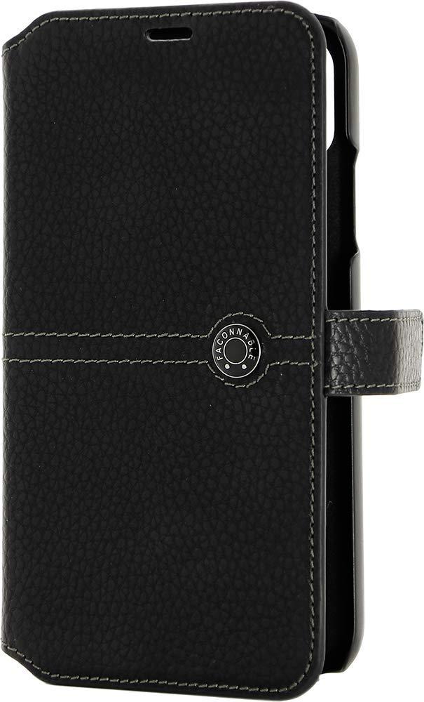 Faconnable Etui de Protection iPhone XR Noir  Amazon.fr  High-tech 512ea49f4b1b