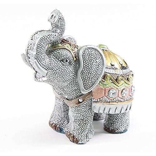 Silver Elephant Figurines Amazon