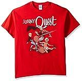 Hanna-Barbera Men's Jonny Quest T-Shirt, Red, XL