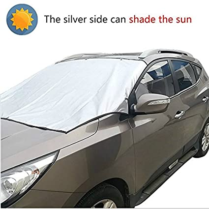 Amazon Com Magnetic Windshield Snow Cover Waterproof Dustproof Car