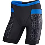 TYR Competitor 9in Tri Short - Men's Black/Blue, L