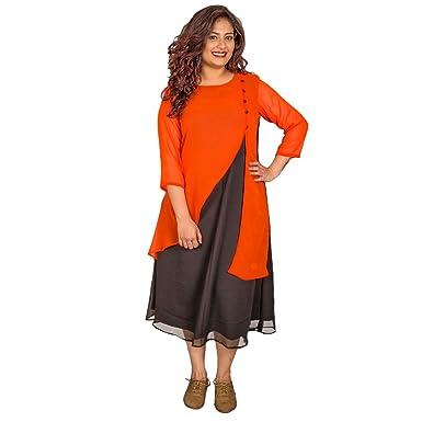 58e8cc0c98b1b Xxllent Women s Stylish 3 4Th Dress  Amazon.in  Clothing   Accessories
