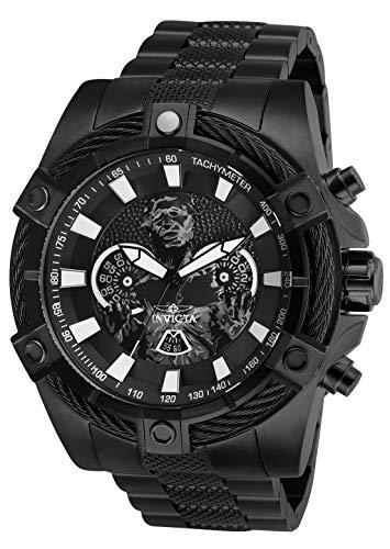 (Invicta Men's Star Wars Quartz Watch with Stainless-Steel Strap, Black, 26 (Model:)