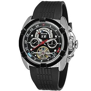 Forsining Men's Automatic Self-winding Calendar Brand Leather Strap Wrist Watches FSG291M3T3