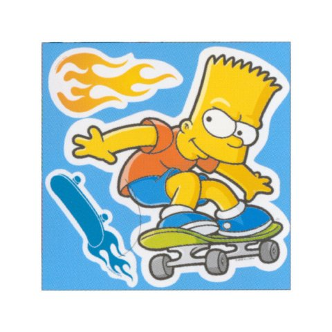 Sticker M Simpson https://amzn.to/2WszEbF