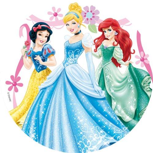 Dekoback Zucker-Tortenaufleger Disney Princess, 1er Pack (1 x 17 g)
