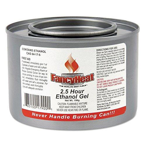 FancyHeat F900 Ethanol Gel Chafing Fuel Can, 2-1/2 Hour B...