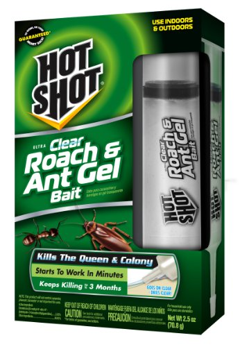 Ant Gel Bait (Hot Shot Ultra Clear Roach & Ant Gel Bait HG-95769)