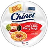 3 Pk, Chinet Chip and Dip Trays, 8 Count (24 Total)