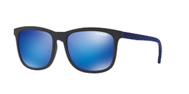 Arnette 0AN4240 251125 56 Gafas de sol, Negro (Matte Black/Greenmirrorlightbluee), Hombre