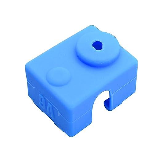 4PCS Impresora 3D Silicona Scok Impresora 3D Parte Cubierta ...
