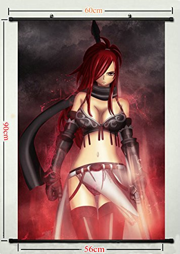 erza Fairy scarlet sexy tail