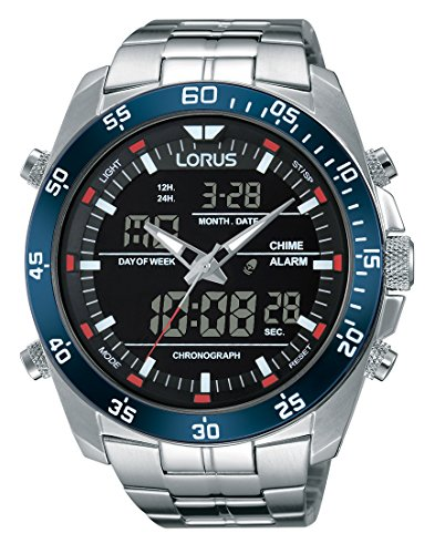Lorus RW623AX9 Gents Analoque Digital Bracelet Watch