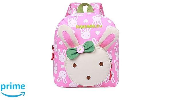 EGOGO Conejo Animales Niños Mochila Kinder mochilas/ Infantil Mochila para Niños Niñas Bebés E525-1 (Rosa): Amazon.es: Deportes y aire libre