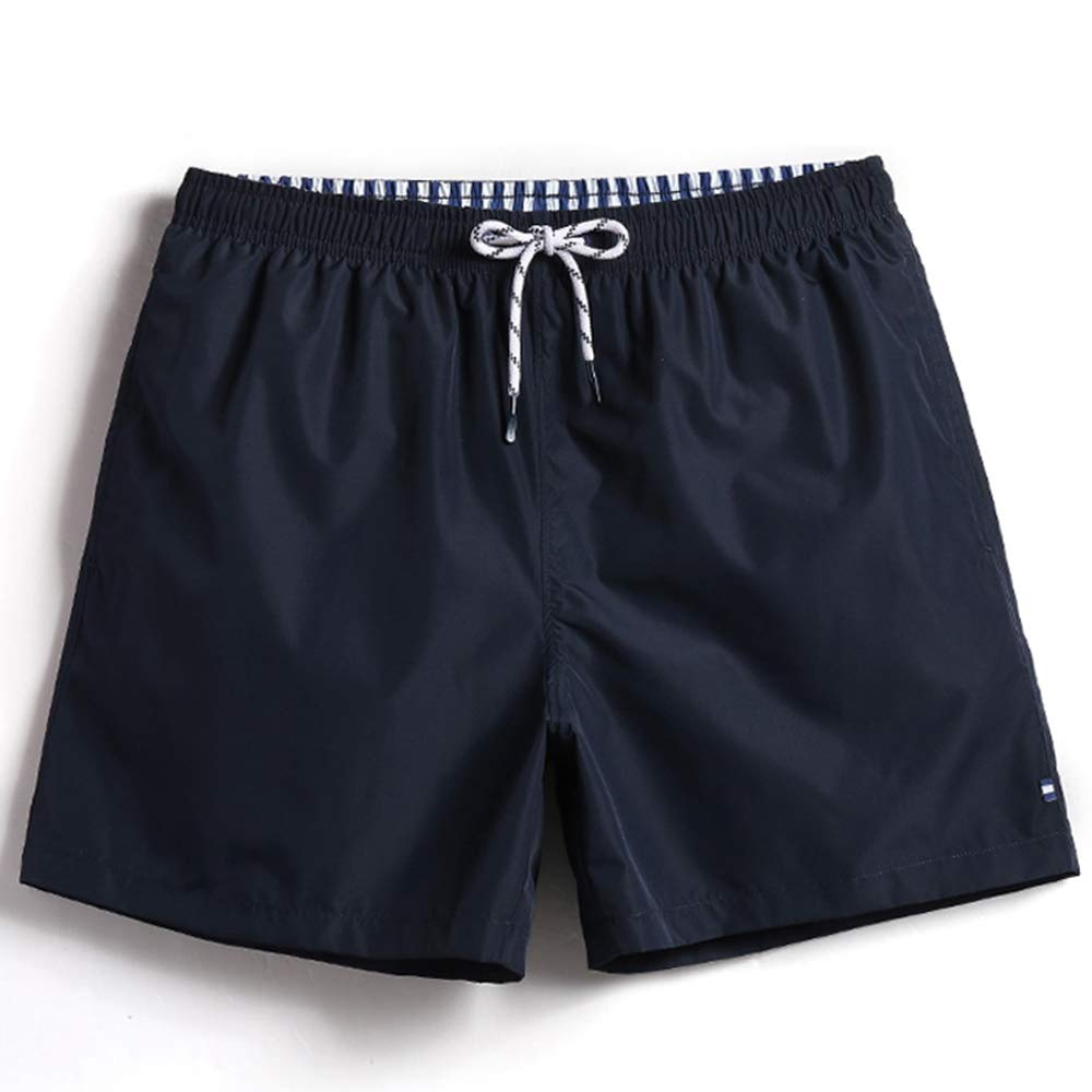 ZYSHI Men Swimwear Board Shorts Beach Surfing Sweat Mesh Liner Bathing Suits