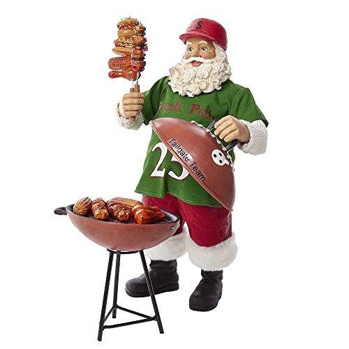 Kurt Adler 10.75-Inch Fabriché North Pole Grill Master Santa - Set of 2 Pieces