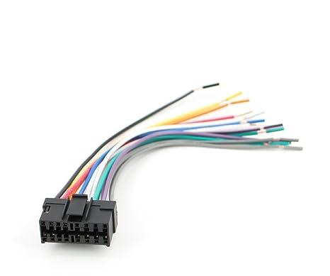 amazon com xtenzi power wire harness for jvc radio dvd 16 pin amazon com xtenzi power wire harness for jvc radio dvd 16 pin original head unit car electronics