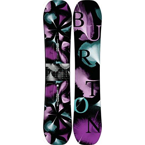 Burton Kids Women's Déjà Vu Smalls '18 138 (Youth) Multi 138 Burton Twin Tip Snowboard