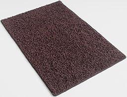 Chocolate Brownie Brown - 4\'x6\' Custom Carpet Area Rug