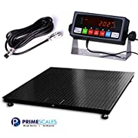 Prime Scales 10000x1lb Floor Scale | Pallet Scale with SFL Indicator (48x60)