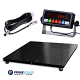 Digiweigh Floor Scale/Heavy Duty Platform 48X48'',10000X 1LB,Digital Indicator,Brand New