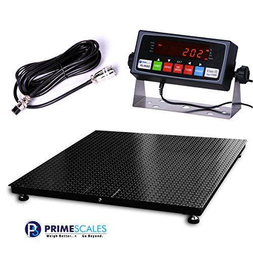 Digiweigh Floor Scale/Heavy Duty Platform 48X48'',10000X 1LB,Digital Indicator,Brand New by DigiWeigh