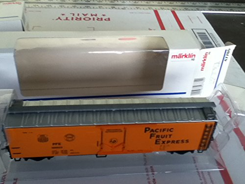 MARKLIN HO Long 4 AXELS BOXCAR REFEER Pacific Fruit, used for sale  Delivered anywhere in USA