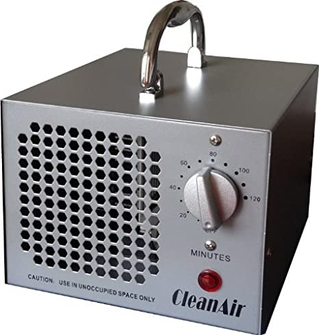 CleanAir Industrial Ozone Generator 3,500mg (3 5G) Air Deodorizer Ionizer  Sterilizer, with 120 Minute Timer and NO Hold