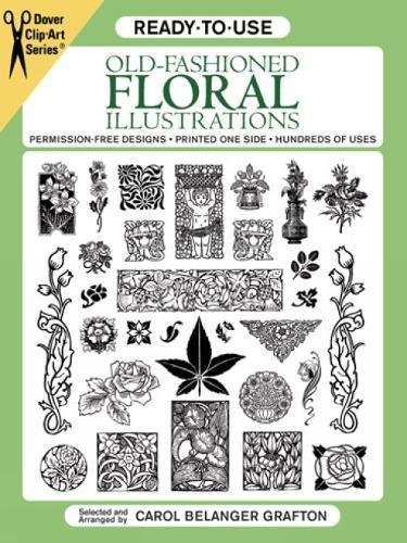 Ready To Use Old Fashioned Floral Illustrations  Dover Clip Art Series