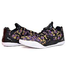 Nike Kobe IX EM QS GS Basketball Shoes Black/Court Purple 677619-001 (7Y)