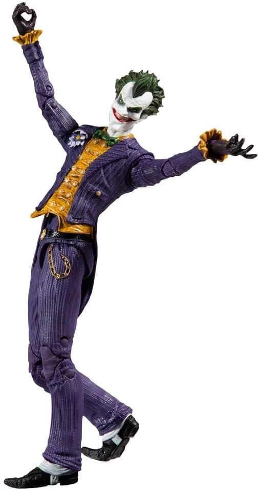 DC McFarlane - Boneco Arkham Asylum Joker