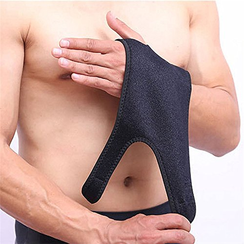 ShiLiTech Night Wrist Sleep Support Brace - Fits Both Hands - Cushioned to Help With Carpal Tunnel and Relieve and Treat Wrist Pain,Adjustable, Fitted (Left) by ShiLiTech