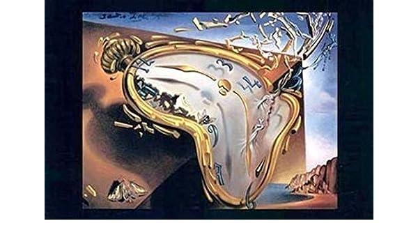 Salvador Dali - Reloj de fusión Al momento de su primera explosi Artistica di Stampa (93,98 x 67,31 cm): Amazon.es: Hogar