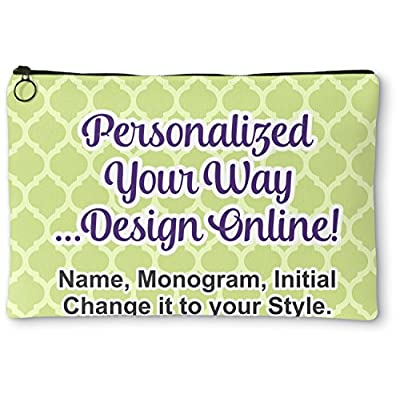 Personalized Zipper Pouch Large 12 X9 New Suknieidodatkislubne Pl