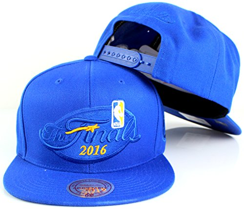 Golden State Warriors Mitchell & Ness NBA Finals Run Champions Adjustable Snapback Hat (2016) (Vintage Jersey Clippers)