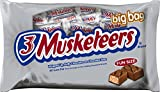 3 MUSKETEERS Chocolate Fun Size Candy Bars 22.49-Ounce Bag (Pack of 4)