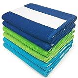 Ben Kaufman Sales KAUFMAN - Cabana Terry Loop Towel 6-Pack BGT - 30in x 60in