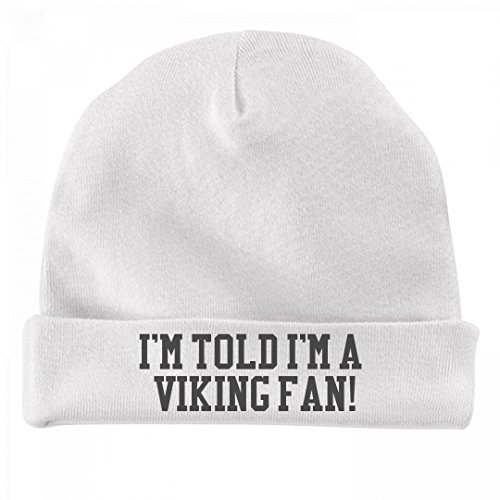 Funny Baby Is A Viking Fan!: Infant Baby (Viking Hat Name)