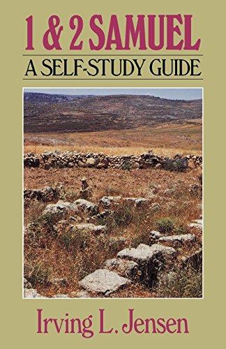 First & Second Samuel- Jensen Bible Self Study Guide (Jensen Bible Self-Study Guide Series)