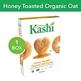 Kashi Heart to Heart, Breakfast Oat Cereal, Organic Honey Toasted, Non-GMO Project Verified, 12 oz