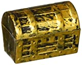 US Toy Dozen Mini Pirate Gold Treasure Chests