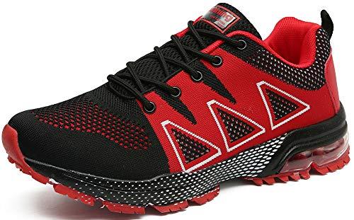 Da Running Rosso Scarpe Uomo Fitness Corsa Nero Zc Casual Interior Tqgold® Ginnastica Sportive Donna Sneakers All'aperto HTw0Zxaq