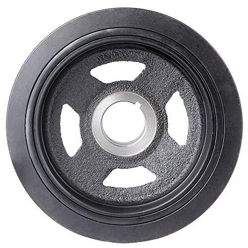 (OCPTY Harmonic Balancer Crankshaft Belt Drive Pulley Fits 1996-2001 Infiniti I30 1995-2001 Nissan Maxima)