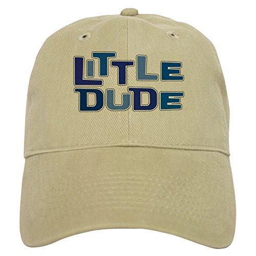 Dude Cap Baseball Vintage (CafePress - LITTLE DUDE Cap - Baseball Cap with Adjustable Closure, Unique Printed Baseball Hat)