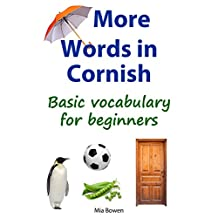 More Words in Cornish: Basic vocabulary for beginners (Learn Cornish Book 2)
