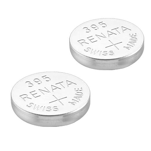 31 opinioni per 2 x Renata-Batteria per orologio da polso, prodotta in Svizzera, batterie di