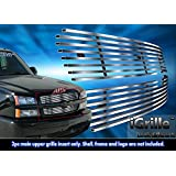 304 Stainless Steel Billet Grille Fits 2003-05 Chevy Silverado 1500/ 03-04 2500 #C65717C