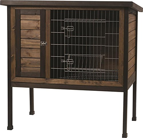 Kaytee Rabbit Hutch, 1-Story, 36-Inch Wide Super Pet Hutch