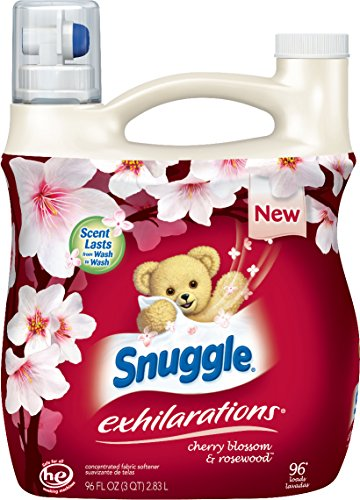 snuggle-exhilarations-concentrated-fabric-softener-liquid-cherry-blossom-charm-96-fluid-ounce