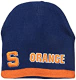 Donegal Bay NCAA Syracuse Reversible Knit Beanie, One Size, Orange